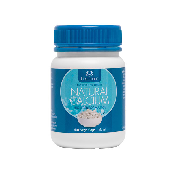 Lifestream Natural Calcium 60 caps