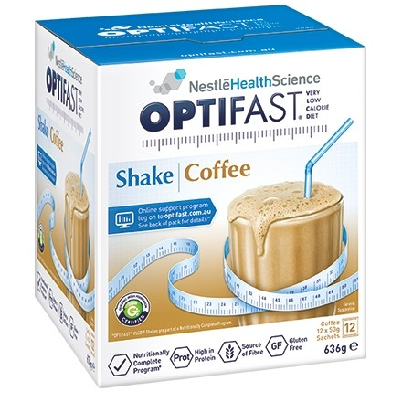 OPTIFAST VLCD MILKSHAKE 12x54g - COFFEE