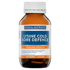 Ethical Nutrients  Lysine Viral Cold Sore Defence 30tab
