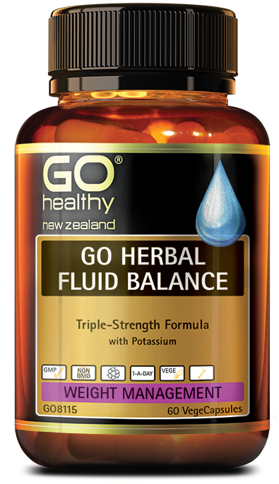 GO Healthy Herbal Fluid Balance 30 Caps