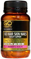 GO Healthy GO Hair/Skin/Nail Beauty Sup 50Vcap