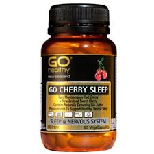 Go Healthy Cherry Sleep 60 Vege Caps