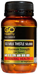 Go Healthy Milk Thistle 50000 30 Vege Caps
