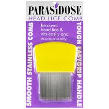 PARASIDOSE Long Tooth Lice Comb
