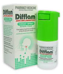 Difflam Throat Spray Sugar Free 30ml