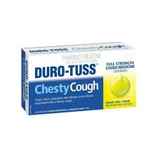 Duro-tuss Cough Lozenges Sugar Free Lemon 24