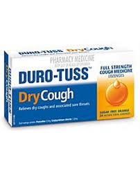 Duro-tuss Cough Lozenges Sugar Free Orange 24