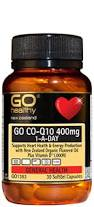 GO Healthy  COQ10 400mg 1 A Day 30 caps