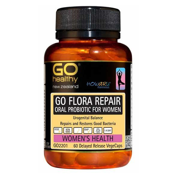 GO Healthy Flora Repair 30vcaps