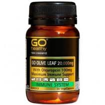 Go Healthy GO Olive Leaf 20 000mg 30 Vcaps