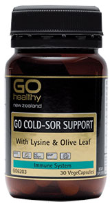 Go Healthy Cold-Sor Support 30 capsules