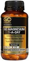 Go Healthy Magnesium 1-A-Day 500mg 120 Cap