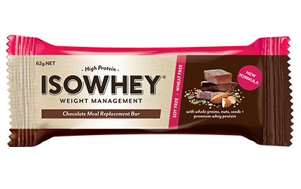 IsoWhey Meal Replacement Bar Chocolate 62g