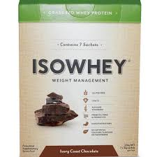 IsoWhey Chocolate Sachets 7 per BOX