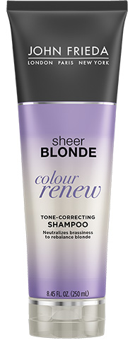 John Frieda Sheer Blonde® Color Renew Tone-Correcting Shampoo 250ml