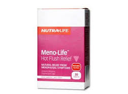 Nutra-Life Meno-Life - 24 Hour Menopause Support 60 caps
