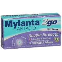 Mylanta to go Double Strength Tabs 24