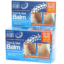 Neat Feat Foot And Heel Balm 75gx2