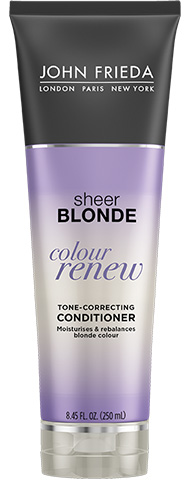 John Frieda Sheer Blonde Color Renew Tone-Correcting Conditioner  250ml