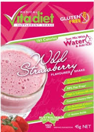 VITA DIET Wild Strawberry Shake Single 46g