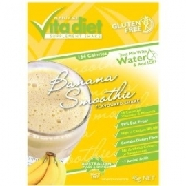VITA DIET Banana Shakes Single 46g