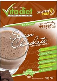 VITA DIET Swiss Chocolate Shake Single 46g