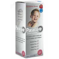 Paracare Junior Suspension  Strawberry flavour 200mL
