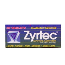 Zyrtec Tabs 10mg 30